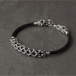 Stainless steel chainmaille bracelet.Game of Thrones, Viking inspired jewellery.
