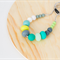 MIX Bead Teething Necklace EMERALD