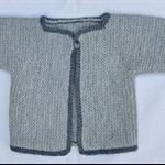 Pale grey jacket/cardigan Size 00
