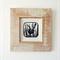 Blue Wren Framed Linocut