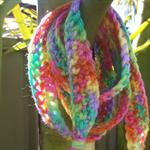 Multi Coloured Hair Wrap