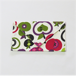Simple Clutch in Apples -  Wallet, Purse
