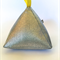 Pyramid Doorstop Metallic 'Silver'
