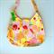Ladies Handbag - Retro Pin up Girls - pink, cotton, handmade, bag, purse
