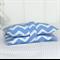 Nappy Wallet - Pastel Blue Chevron