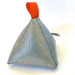 Pyramid Doorstop Metallic