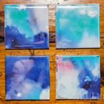 Watercolour Coasters || Set of 4