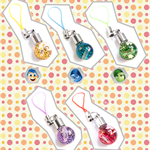 [Disney Pixar] Inside Out Glass Vial Accessory Charms